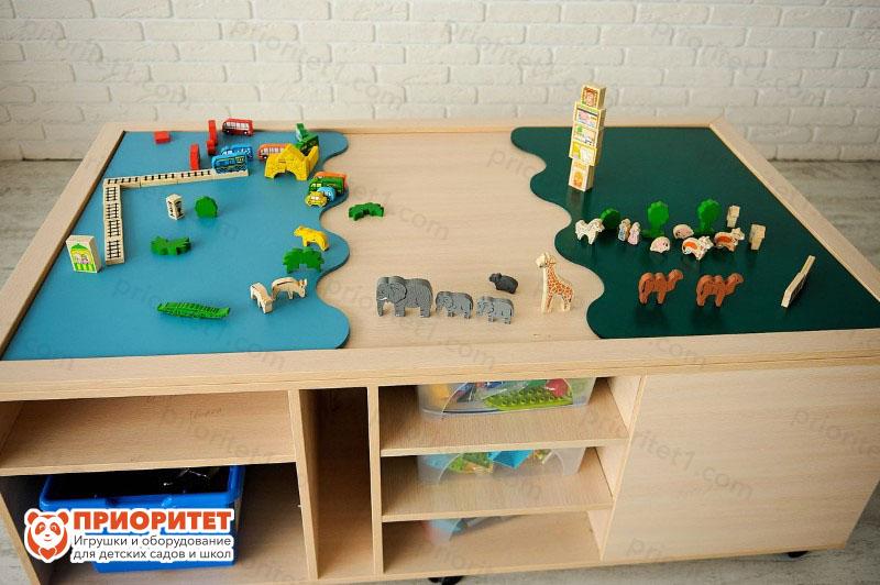 Игровой многофункциональный стол набор 1